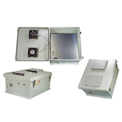 L-com Debuts New UL Listed NEMA-Rated Equipment Enclosures