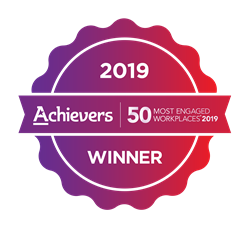 Achievers 50 Most Engaged Workplaces™ in North America