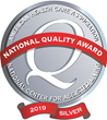 Two Windsor Care Centers Awarded AHCA/NCAL 2019 Silver National Quality Award