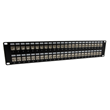 MilesTek Introduces New 1U and 2U Cat5e, Cat6 and Cat6a Patch Panels