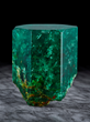 Emerald Crystal, from the Muzo Mine, Colombia. Dr. Eugene Meieran Collection. Image by Evan D'Arpino.