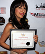CSUN Professor Dr. Luciana Lagana Wins Best Short Documentary News Award at the NewsFest in Las Vegas.
