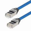 L-com Releases New Cat6 and Cat6a Plenum +105°C, 28AWG, Shielded, Slim Ethernet Patch Cords