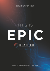 EPIC Chill and EPIC Warm powered by REACTEX
