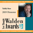 Teddy Bass Honored With 2019 New Thought Walden Award in the Mind/Body Connection and Healing Category