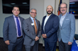 L-R: Jose Arredondo and Anthony Mormile, Orange Bank & Trust; Nick Marra and Gregg Manning, Webster Bank