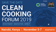 Clean Cooking Forum 2019 to Take Place in Nairobi, Kenya