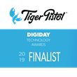 Tiger Pistol Named Digiday Tech Award Finalist