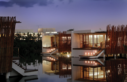 Rosewood Mayakoba Resort, designed by three