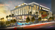 Proposed luxury hotel design by three, West Hollywood, CA