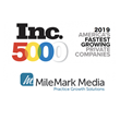 MileMark Media Has Made The 2019 Inc. 5000 List For The Second Year In A Row