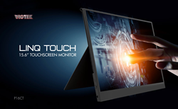 portable touchscreen monitor | Viotek LinQ Touch