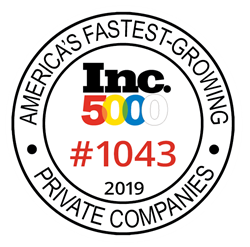 RevolutionParts ranks #1034 in the 2019 Inc. 5000 Fastest Growing Companies
