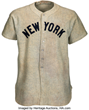 Exceptionally Rare Lou Gehrig Game-Worn New York Yankees Jersey, Authenticated by Industry Leader SGC, Sells for $2.58 Million