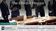"Financial Poise™ Announces ""The Effective Director,"" a New Webinar Premiering October 10th at 1:00 PM CST through West LegalEdcenter™"