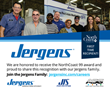 Jergens Inc., Manufacturer in Cleveland, OH, is a 2019 NorthCoast 99 Award Winner