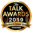 Highly-Acclaimed Naderi Center Receives 2019 Talk Award for Excellence in Customer Satisfaction