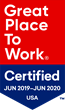 HRMS Solutions Earns Designation as a Great Place to Work-Certified™ Company