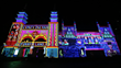 The Electric Canvas lights up Luna Park with Christie Boxer projectors  during Vivid Sydney