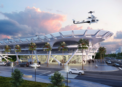"Gannett Fleming ""SKYPORT"" design"