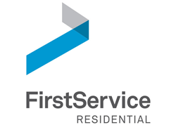 Corporate logo for FirstService Residential property management company.
