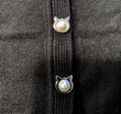 Triple T Studios Introduces Unique Pearl Cat Head Shaped Snaps On Their New Cat Cardigan with Pockets