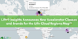 Liftr® Insights℠ Announces New Accelerator Classes and Brands for the Liftr Cloud Regions Map™