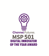 Logically Wins Prestigious MSP 501 Digital Innovator of the Year Award