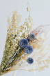 Dried Flower Bundle with Thistle