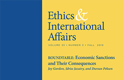 """Ethics & International Affairs,"" Fall 2019 issue"
