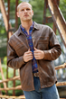 The Territory Ahead Road to Napa Leather Shirt Jac