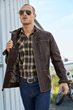 The Territory Ahead Falcon Bluff Leather Jacket