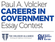 The Volcker Alliance Partners with City University of New York to Launch the Paul A. Volcker Careers in Government Essay Contest