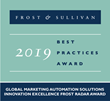 Zift Solutions Wins 2019 Frost Radar Award for  Innovation Excellence in Global Marketing Automation