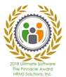 Ultimate Software Honors HRMS Solutions with Pinnacle Award