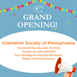 Cremation Society of Pennsylvania, Inc. at King of Prussia Celebrates Grand Opening