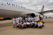 DHL Plane Pull Raised more than $7,400 for Special Olympics Virginia