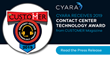 Cyara Receives 2019 Contact Center Technology Award from CUSTOMER Magazine
