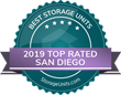 StorageUnits.com Names Top Storage Facilities in San Diego, CA for 2019