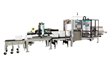 Pack Up To 20 Cases Per Minute with the New 2-Person Work Cell with Pack Control and PD50 Product Conveyor on Wexxar Bel's Enhanced Flex E Pack System