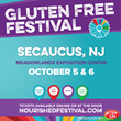 USA's Largest Gluten-Free Food Festival Returns to Secaucus, NJ at the Meadowlands Exposition Center October 5-6 2019