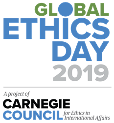 Global Ethics Day 2019, a project of Carnegie Council