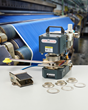 New Fully Portable ClipsShop® CS-TIDY-51  Pneumatic Grommet Attaching Machine Applies X-Large Curtain Eyelets
