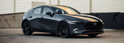 2020 Mazda3 by loading dock