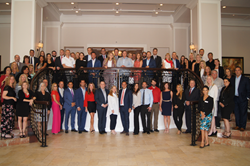Guests gathered for a group photo at Engel & Völkers Florida's Leadership Summit 2019