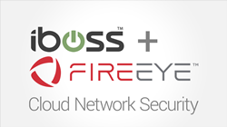 iboss and fireeye logo
