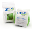 Bags made from CLAF® Bio Fabric™, a material that has earned a USDA Certified Biobased Product Label