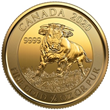 GSI Exchange and Royal Canadian Mint Announce Limited Release of 2020 $10 1/4 oz Gold Bull Coin