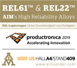 AIM to Highlight REL Alloys at Productronica on November 12th – 15th, 2019