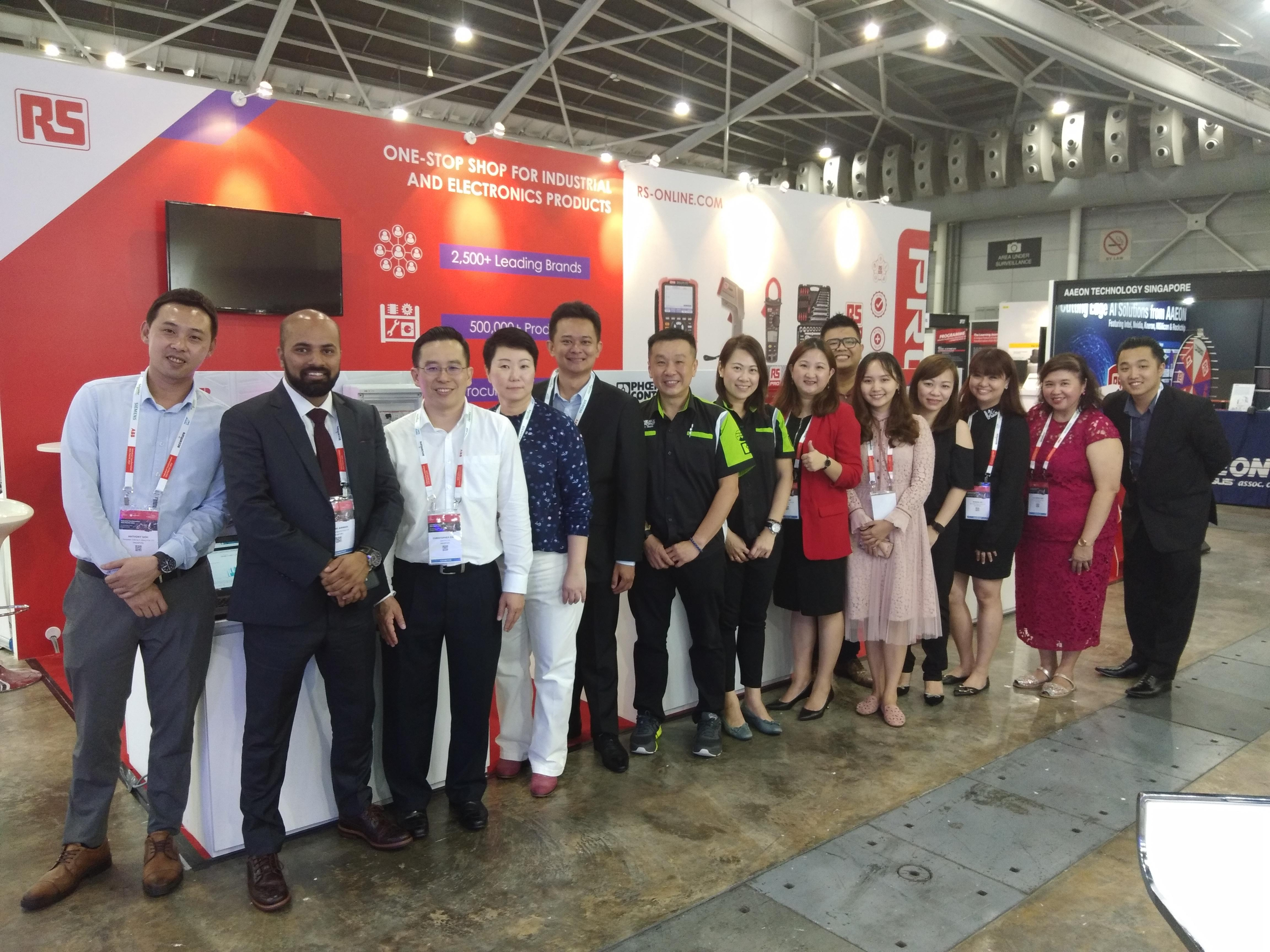 Rs Components At Industrial Transformation Asia Pacific Itap 2019 Exciting Plans Leading To 2020